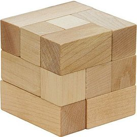 Maple Landmark Soma Cube Game