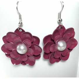 Creative Inspirations Brenda Perkins Flower Earrings