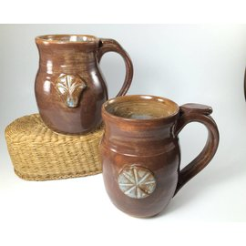 Lorraine Bauman Pottery Mugs