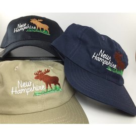 DF Embroidery New Hampshire Moose Baseball Hat