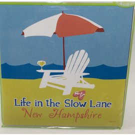 Tree-Free Greetings Life in the Slow Lane Magnet