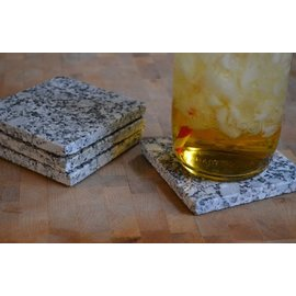 A&E Stoneworks Granite Coaster Set of Four