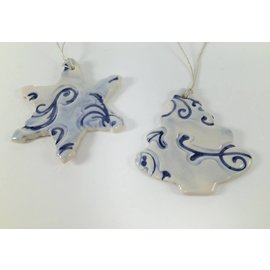 Tricia Eisner Porcelain Christmas Ornament