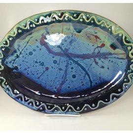 Rainmaker Pottery Oval Pottery Platter