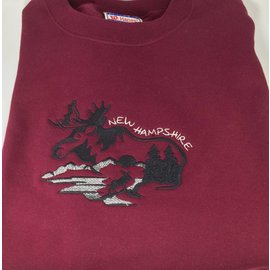 DF Embroidery New Hampshire Sweatshirt