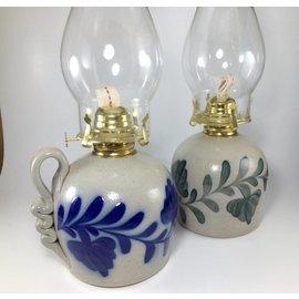 Salmon Falls Stoneware Stoneware Oil Lamps