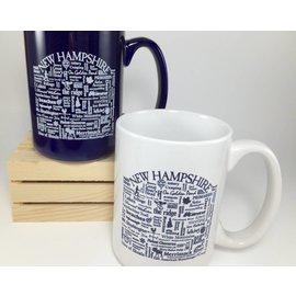 Where Life Takes You New Hampshire Destination Mug