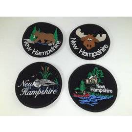 DF Embroidery Embroidered NH Patches