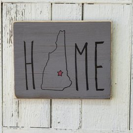 Cedar Porch Designs Wood Sign - New Hampshire Home