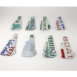 True North Traders NH Shaped License Plate Magnet