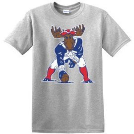 Woods & Sea Patriot Moose S/S Adult T-shirt
