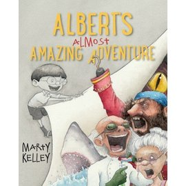 Islandport Press Albert's Almost Amazing Adventure Book