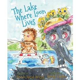 Islandport Press The Lake Where Loon Lives Book