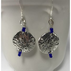 Custom Creations by Allison Sand Dollar Earrings