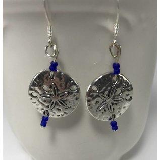 Custom Creations by Allison Sand Dollar Earrings