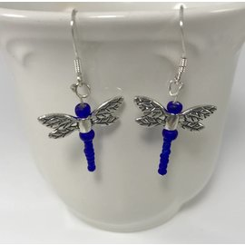 Custom Creations by Allison Dragonfly Earrings