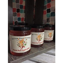 Better Than Average LLC Sweet Red Pepper Jelly
