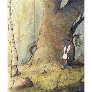 "Dan Tavis Watercolor Illustration Print - 13""x19"""
