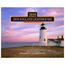 Mahoney Publishing 2018 New England Lighthouses Calendar