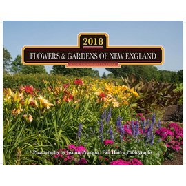 Mahoney Publishing 2018 Flowers and Gardens of New England