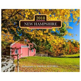 Mahoney Publishing 2018 New Hampshire Calendar