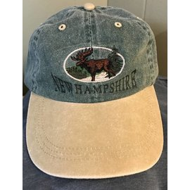 JC Image New Hampshire Moose Baseball Hat