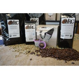 Woodshed Roasting Company WRC Organic Ground Coffee