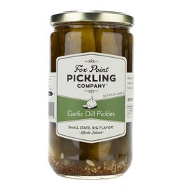 Fox Point Pickling Company Garlic Dill Pickles