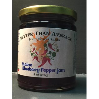 Better Than Average LLC Maine Blueberry Pepper Jam