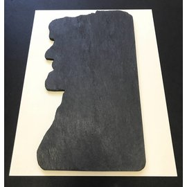 A&E Stoneworks Old Man of the Mountain Slate Cheeseboard