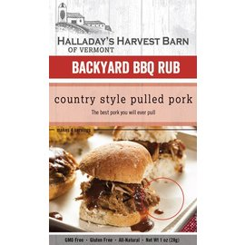 Halladay's Barn Country Style Pulled Pork Backyard BBQ Rub