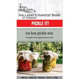 Halladay's Barn Ice Box Pickle Mix