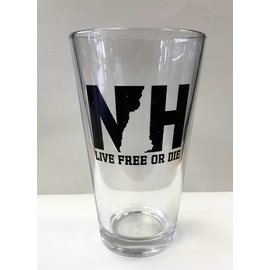 Granite State Apparel NH New Hampshire Pint Glass