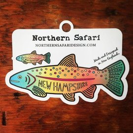 Northern Safari Design Rainbow Trout Decal