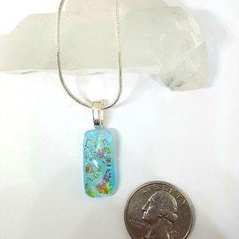 Gasho Studio Dichroic Glass Pendant