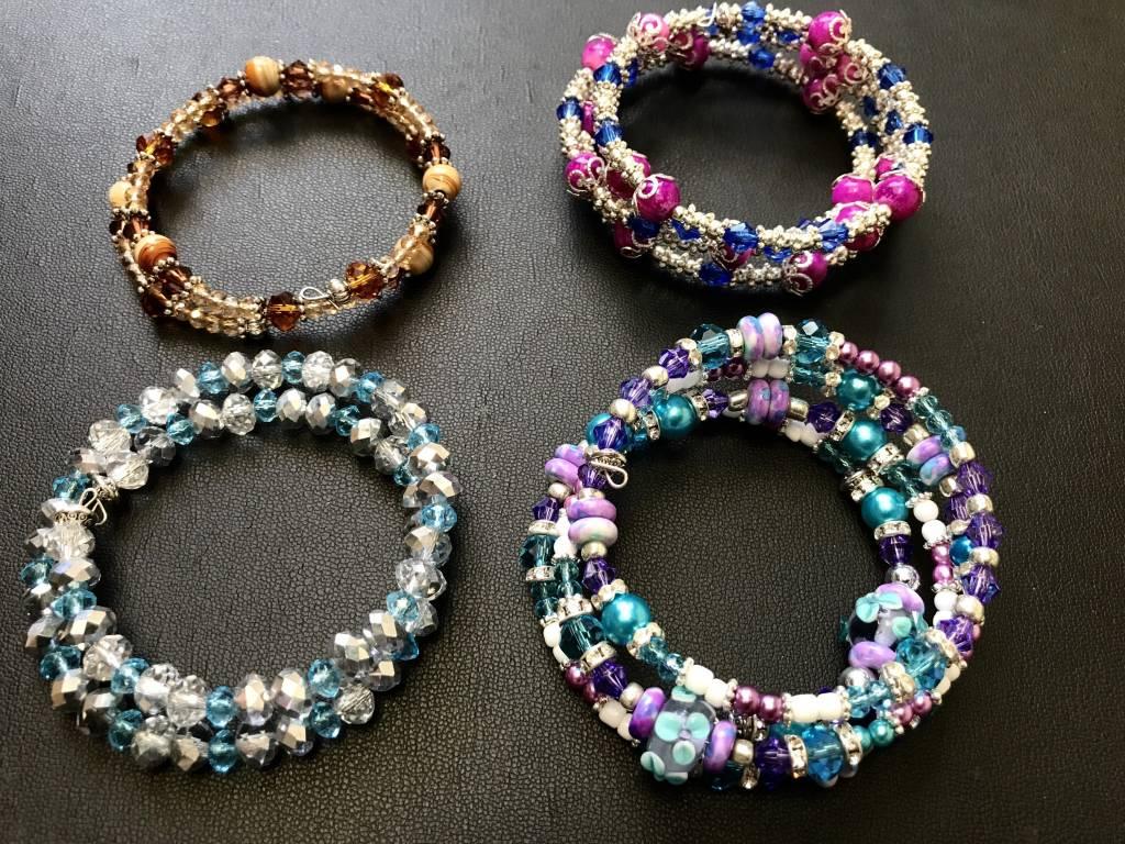 Jenny S Jewels Memory Wire Bracelet