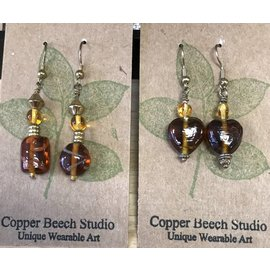 Copper Beech Studio - Elizabeth Moulton Earrings
