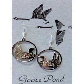 Goose Pond Loon Earrings