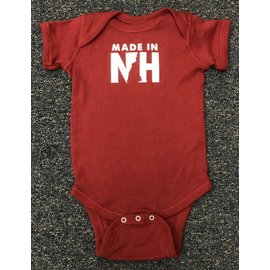 Granite State Apparel Made in NH New Hampshire Onesie