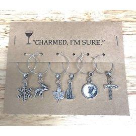 Kind Finds Wine Glass Charm Set