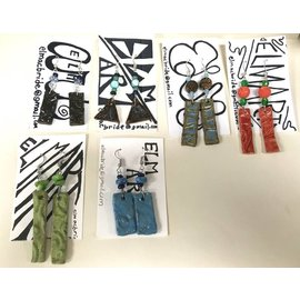 Elizabeth MacBride Ceramic Earrings
