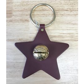New England Bells Leather Star with One Bell