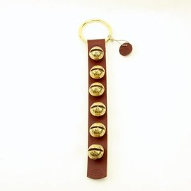 New England Bells Leather Strap with Six Bells