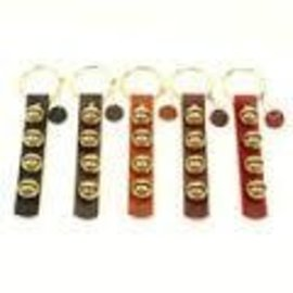 New England Bells Leather Strap with Four Bells