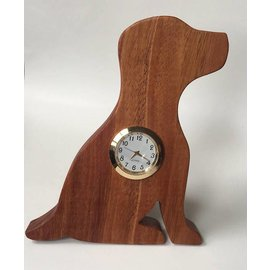 Tim Kierstead Wood Puppy Clock
