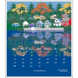 J & J Graphics New Hampshire Poster Calendar