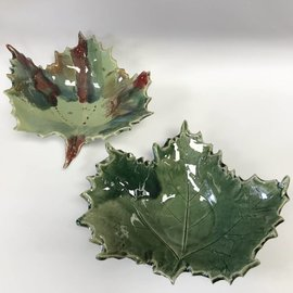 Rainmaker Pottery Ceramic Leaf Bowl
