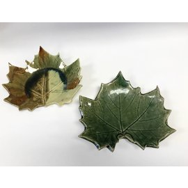 Rainmaker Pottery Ceramic Leaf Plate