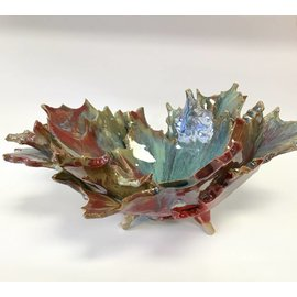 Rainmaker Pottery Multi Leaf Bowl