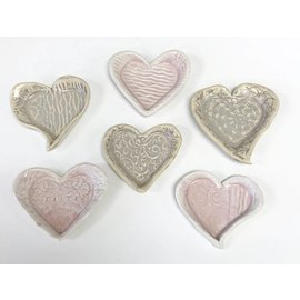 Tricia Eisner Pressed Heart Plate